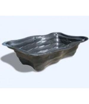 Декоративный пластиковый пруд 1500 л