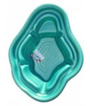 Пластиковый пруд 190 л (зелёный)