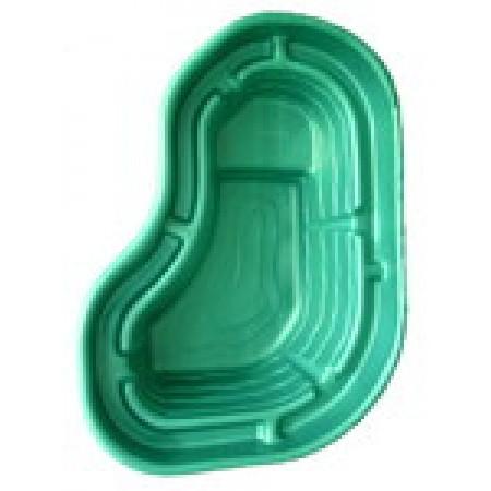 Пластиковый пруд 300 зелёный