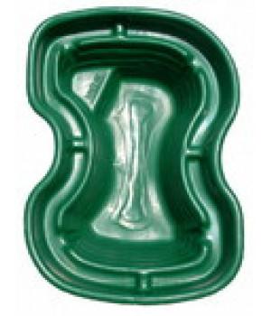 Пластиковый пруд 400 зелёный