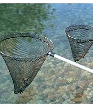 Сачок для рыб, большой, телескопический Fish net large D38 см