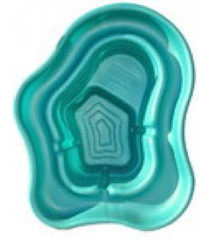 Пластиковый пруд 270 (зелёный)
