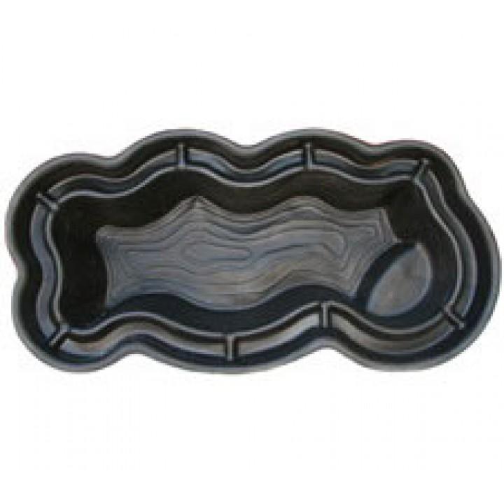 Декоративный пластиковый пруд 1100 л