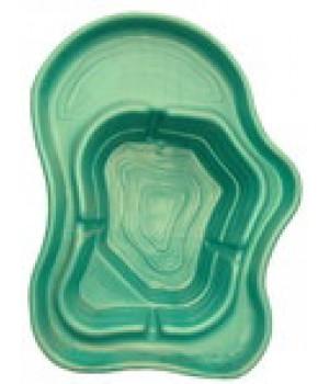 Пластиковый пруд 500л (зелёный)