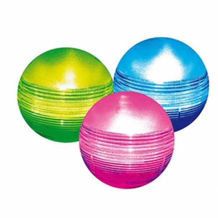 Плавающие цветные шары на солнечных батареях