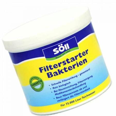 Сухие бактерии систем фильтрации.