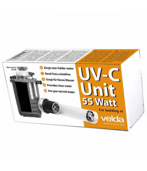 УФ-излучатель UV-C Unit 55W Clear Control 75/100 l, Giant Biofill XL