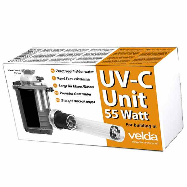 УФ-излучатель для пруда UV-C Unit 55W Clear Control