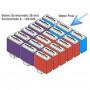 Комплект фильтровальных элементов (красный/фиолетовый) для BioTec ScreenMatic² 18 / 36 / 60000 / 140000