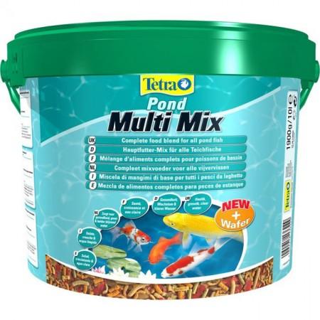Корм для прудовых рыб Pond MultiMix 10 Л