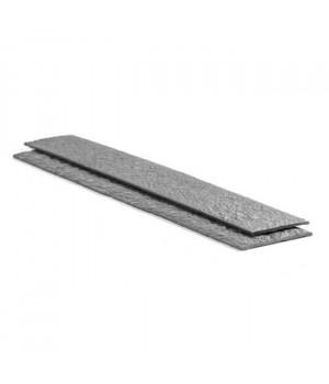 Крепежная лента Ecolat размер 14 см x 10 мм x 2 м, серая