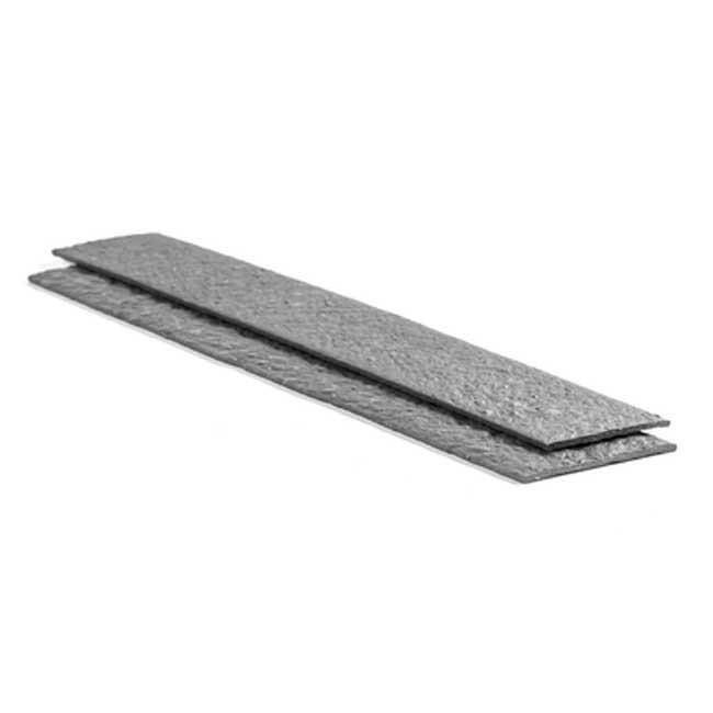 Крепежная лента Ecolat размер 14 см x 15 мм x 2 м, серая