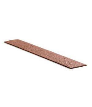 Крепежная лента Ecolat размер 14 см x 10 мм x 2 м, коричневая