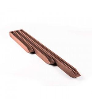 Колышек Ecopic 38x4x4 см для крепления ландшафтной ленты, коричневый