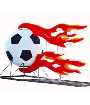 Мяч с огнем