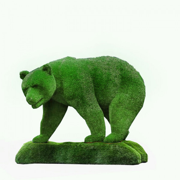 Медведь на острове.