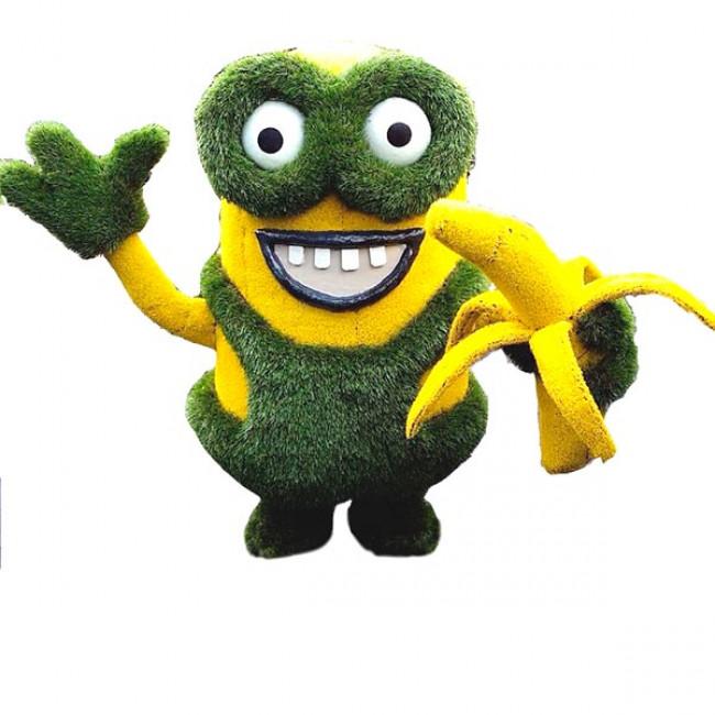 Топиарная фигура Миньон с бананом