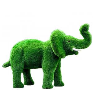 Слон с поднятым хоботом (автополив)