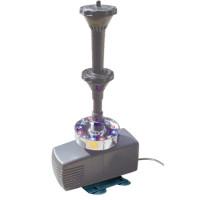 Фонтанный комплект «Вулкан» с цветной подсветкой, 3000 л/ч